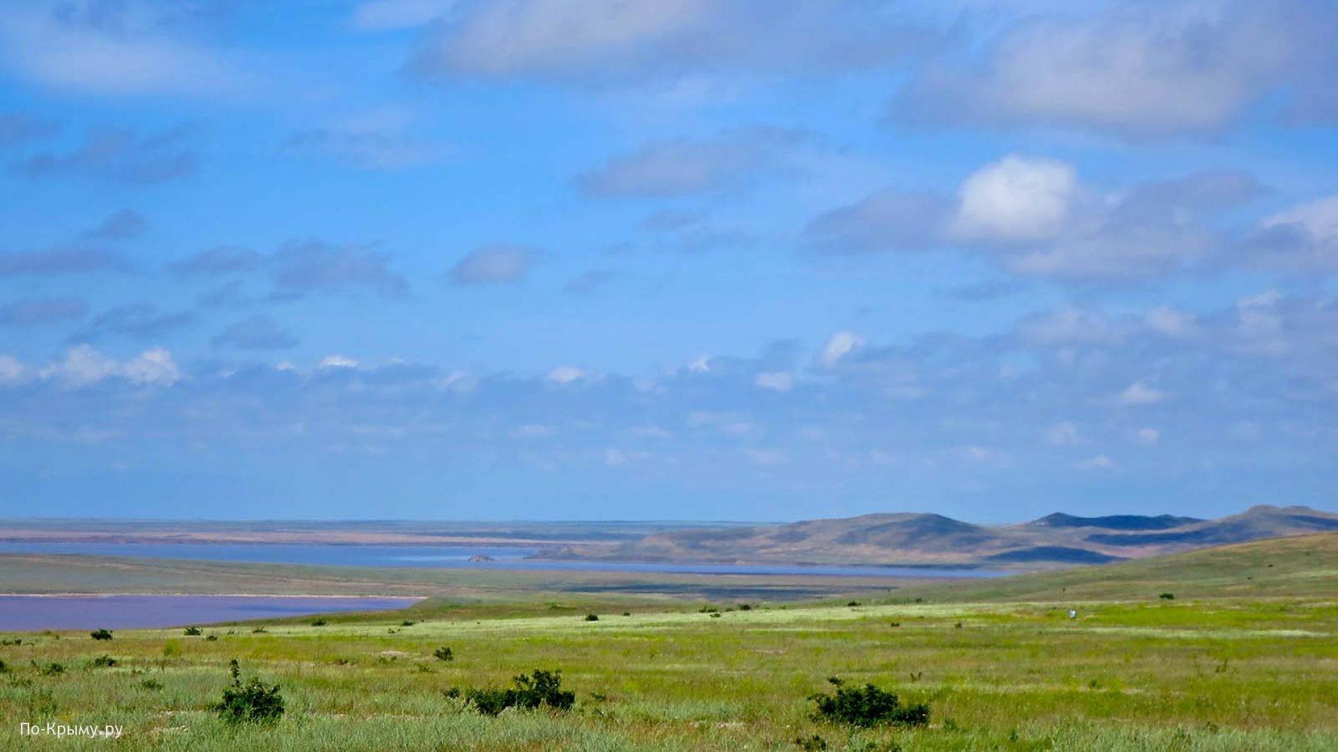 Разноцветные крымские озера