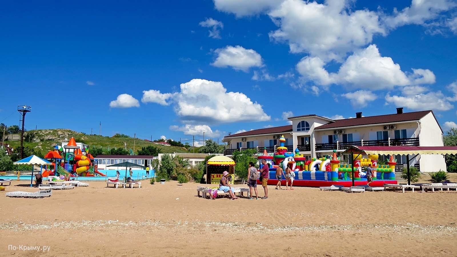 Лучшее место для отдыха на Азовском море