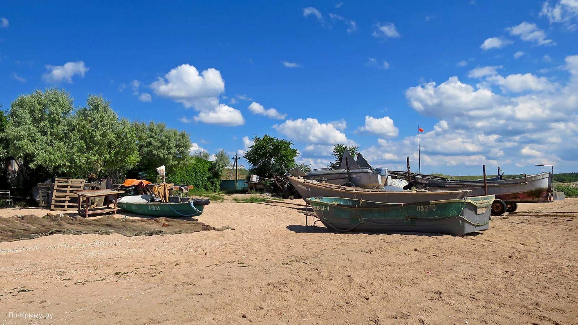 Рыболовецкая артель на Азовском море
