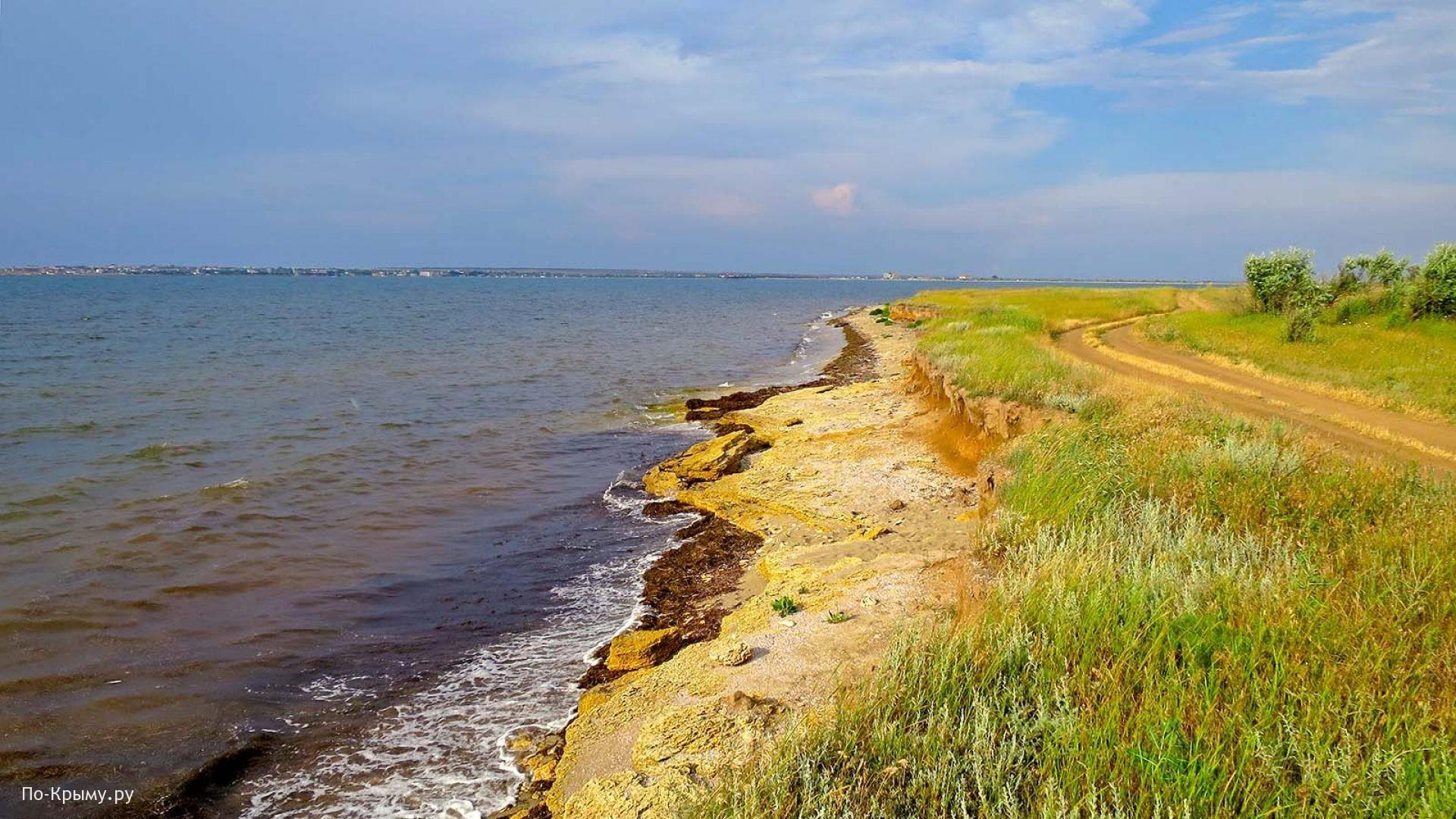 Южный берег Ярылгачской бухты