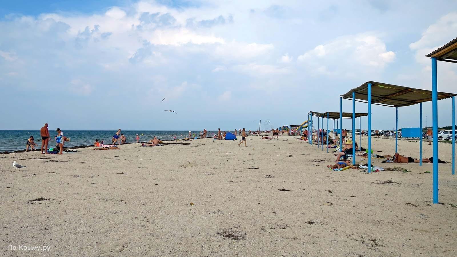 Портовое Крым, пляж