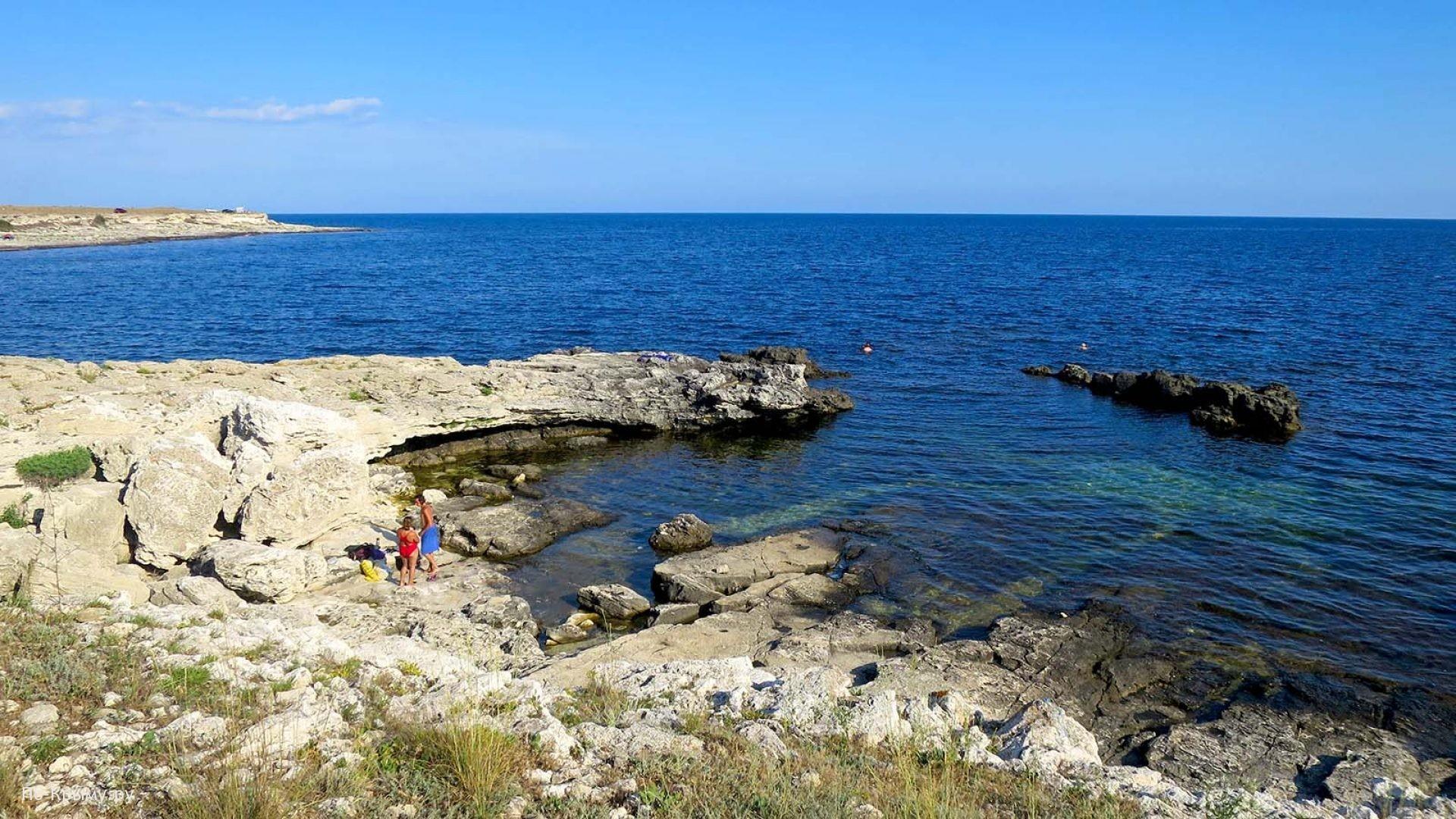 Уютные пляжики Крыма