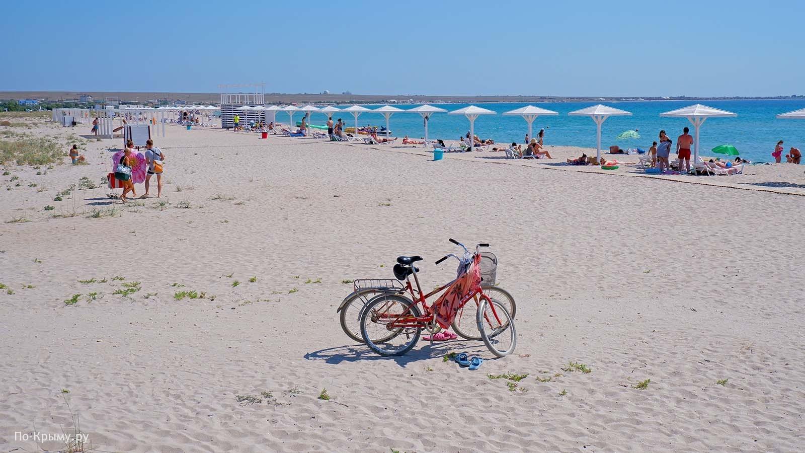 Пляж «Майями» в Оленевке №ЧР-6