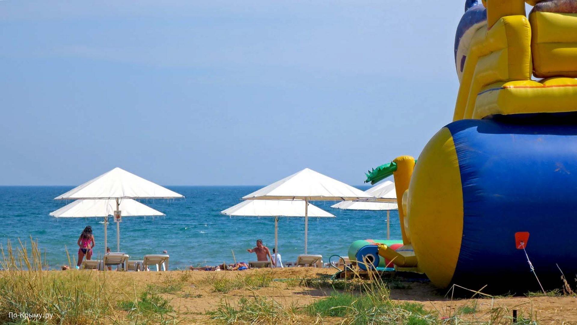 Песчаные пляжи Феодосийского залива
