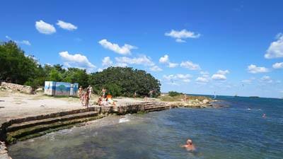 Пляжи Казачки в Севастополе