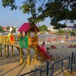 Пляжи Омеги (бухты Круглой) в Севастополе