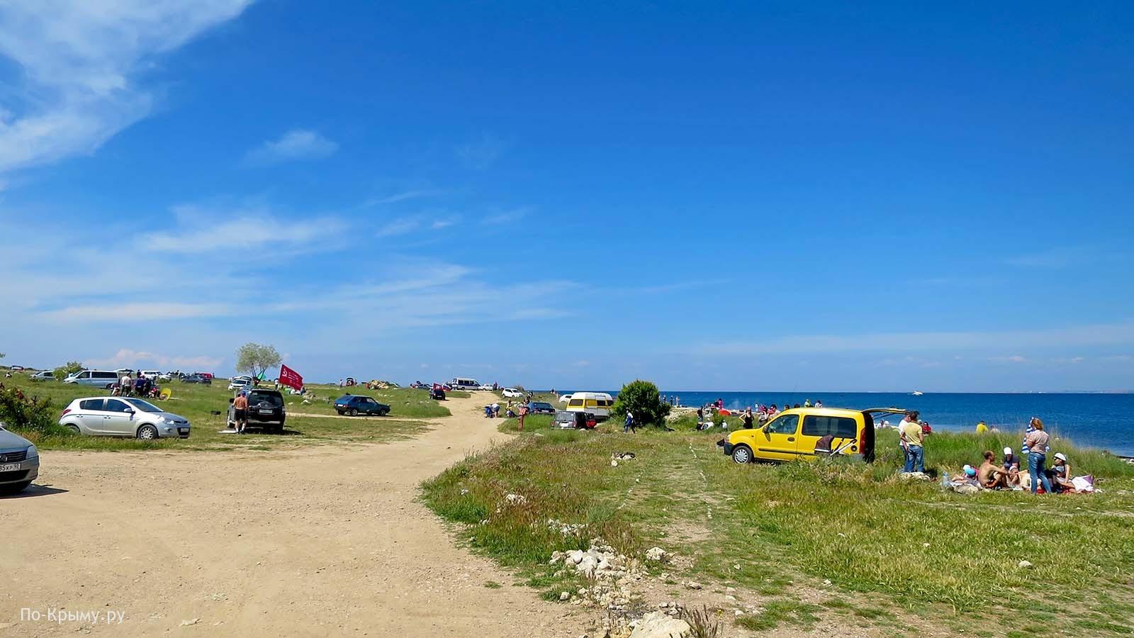 Дикие пляжи бухты Омега