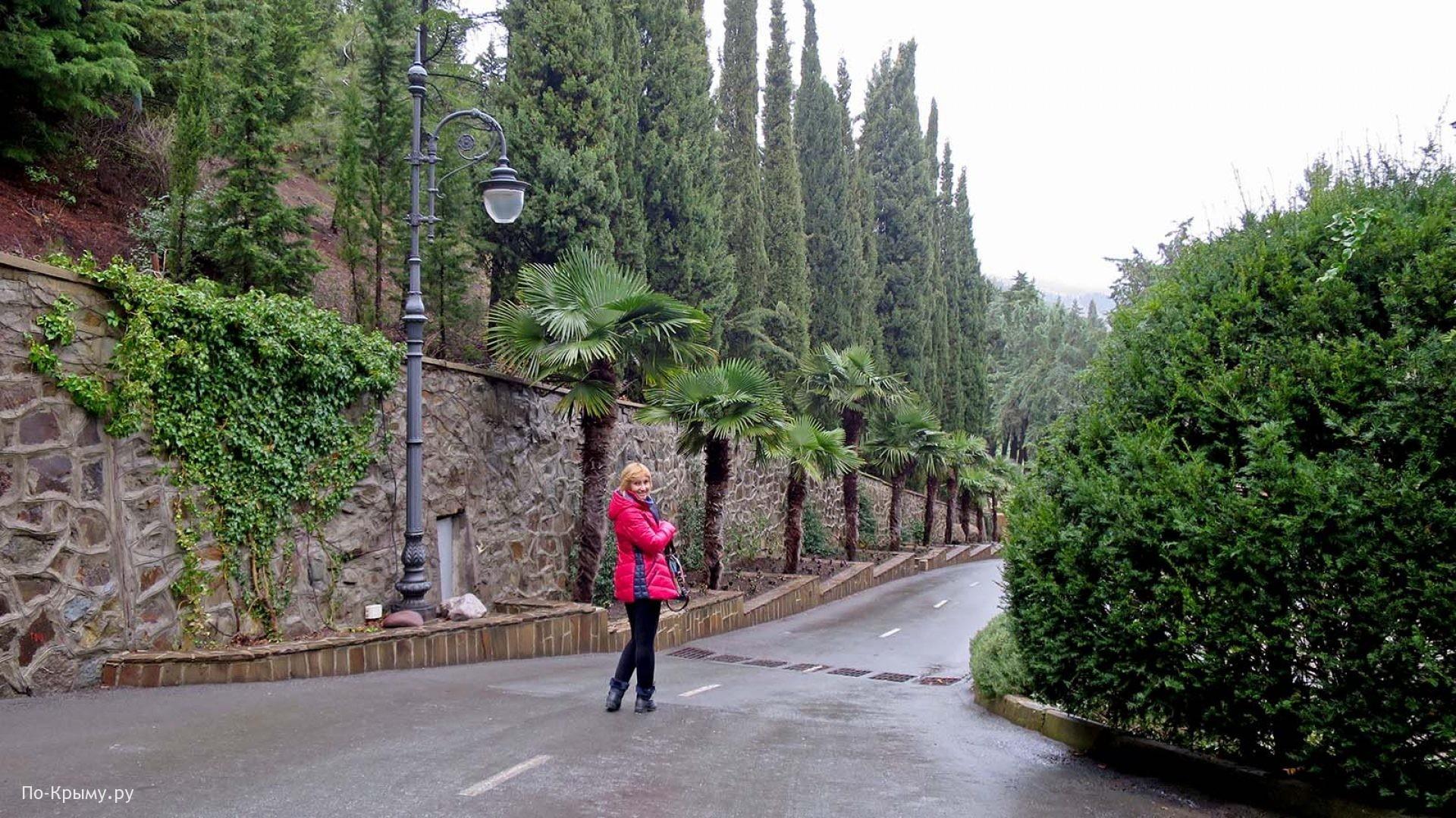 Парки и скверы Крыма