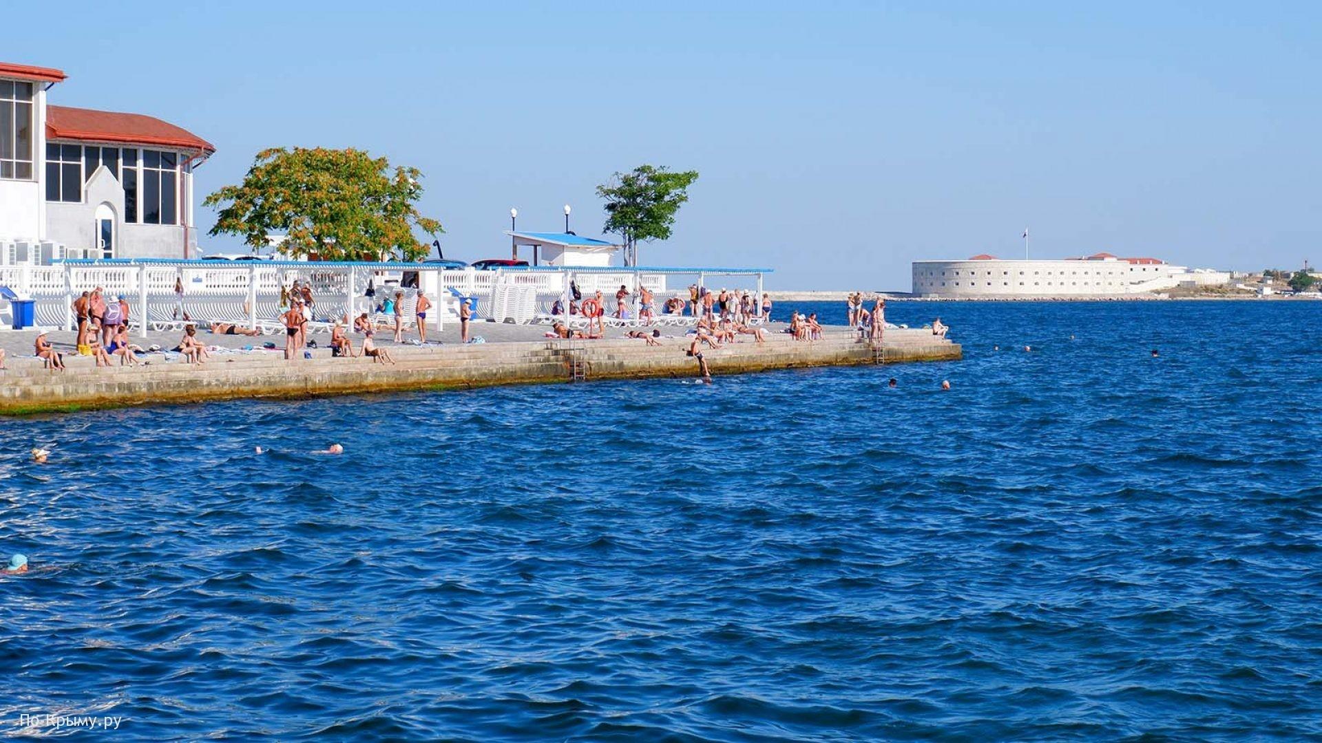 Комфортный пляжный отдых в Севастополе