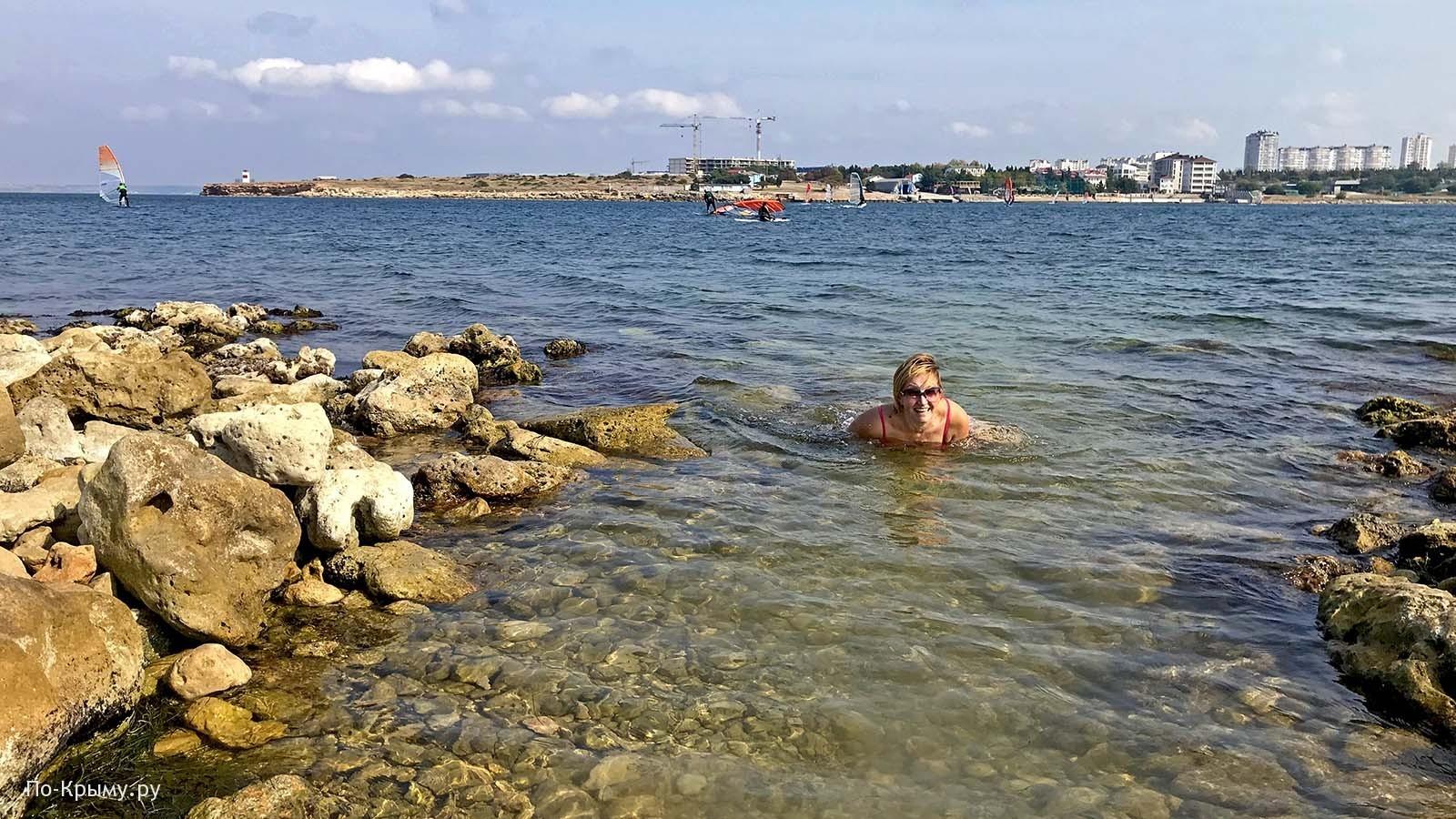 Дикие пляжи бухты Круглая, Севастополь