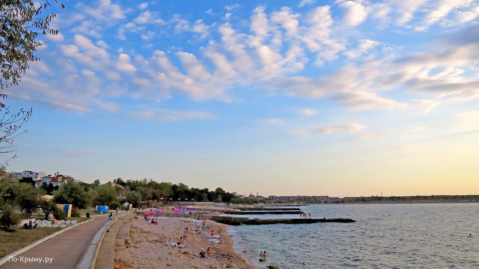 Фото пляжа Адмиральская лагуна