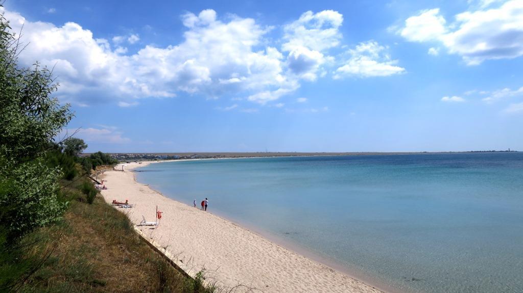 Пляжи Западного Крыма.