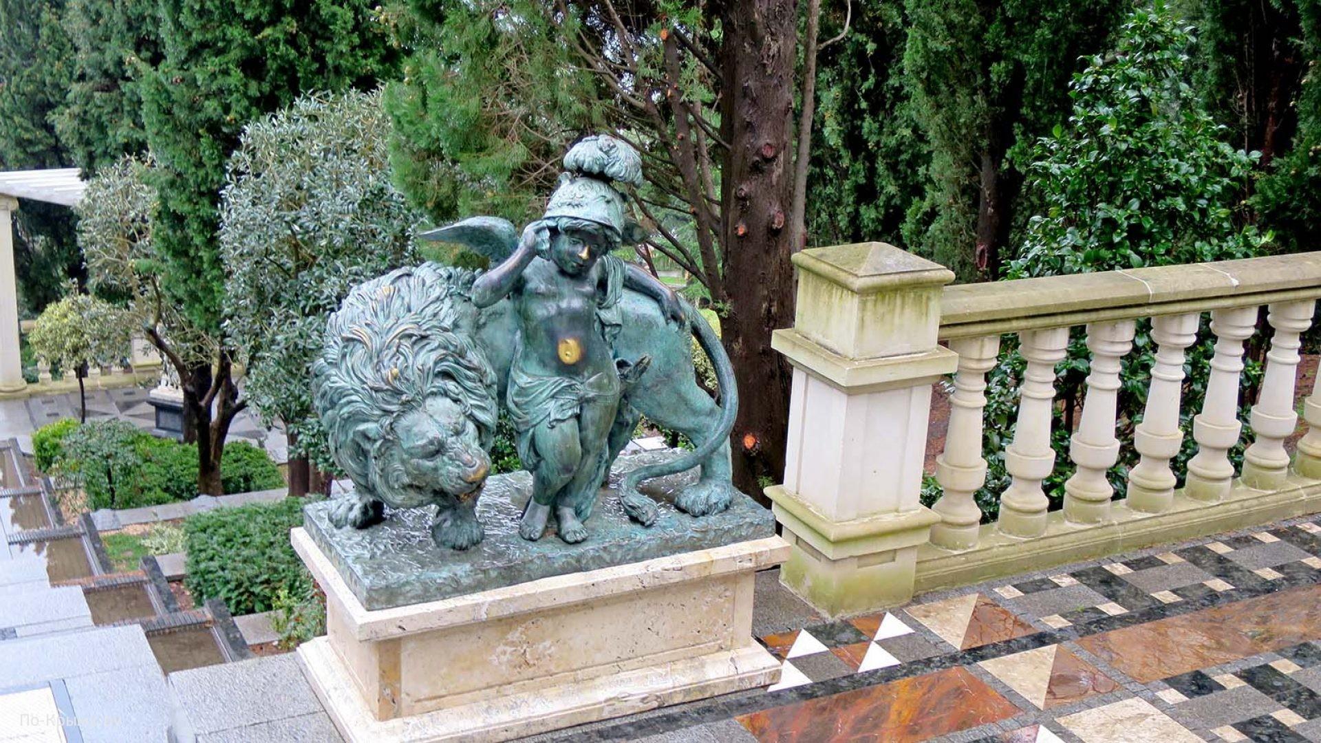 Скульптуры санатория Айвазовское