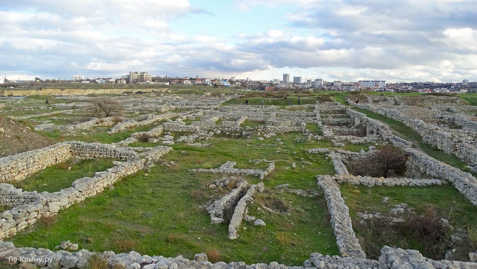 Древний Херсонес Таврический в Севастополе