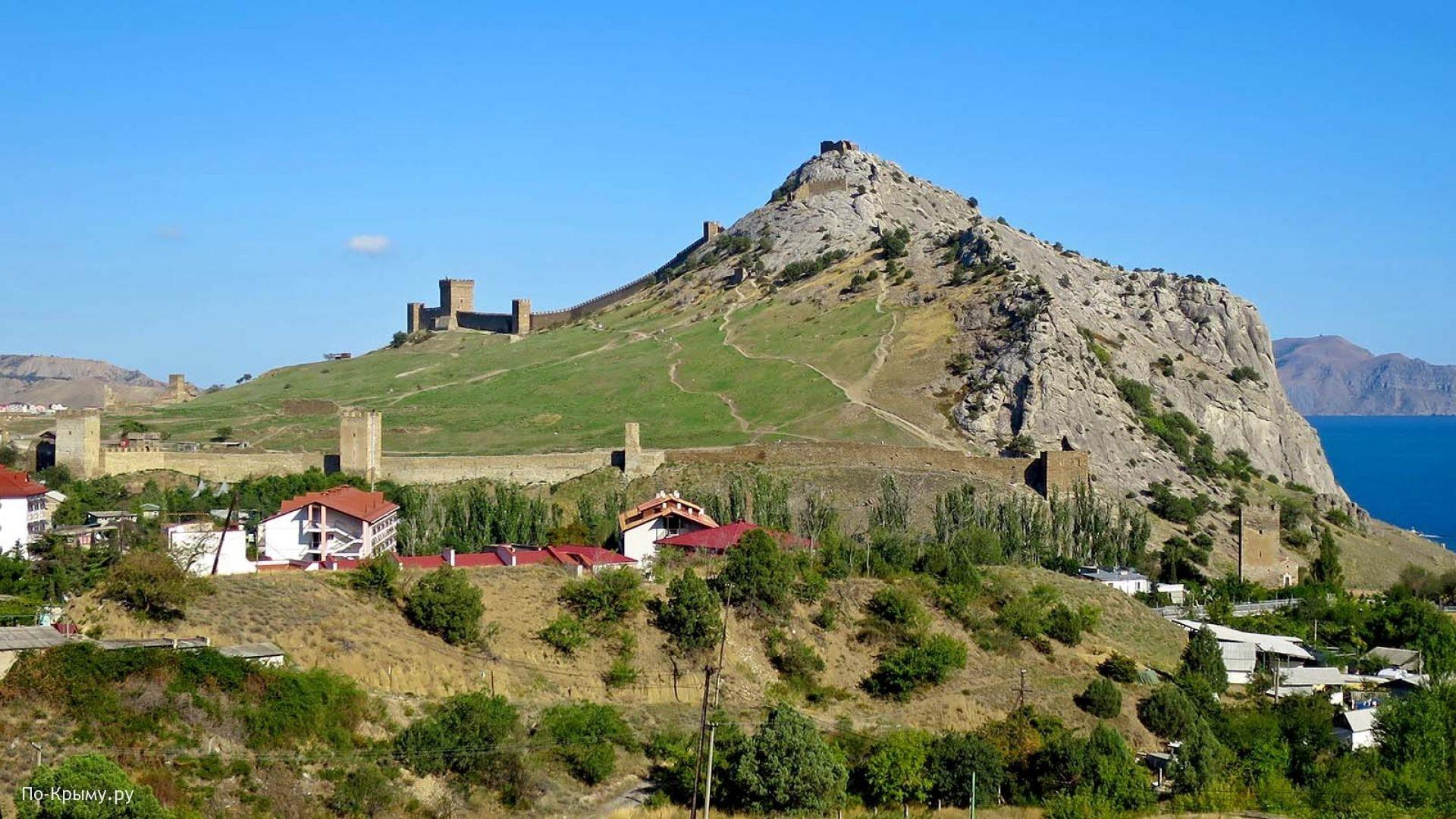 Судакская крепость на вершине Крепостной горы