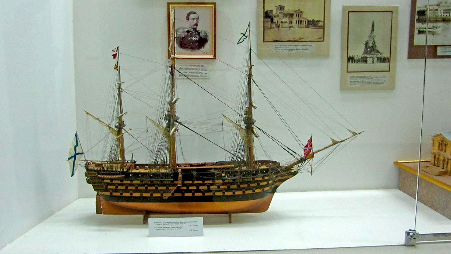 Макеты парусных кораблей