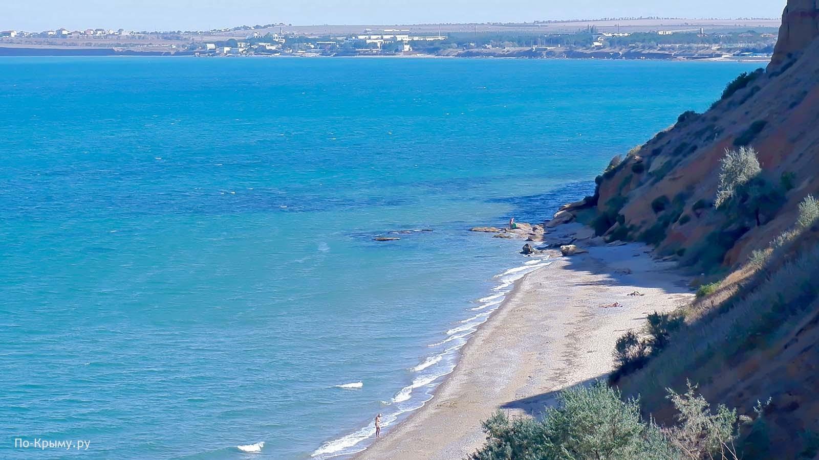 Нудистский пляж Песчаного, Западный Крым