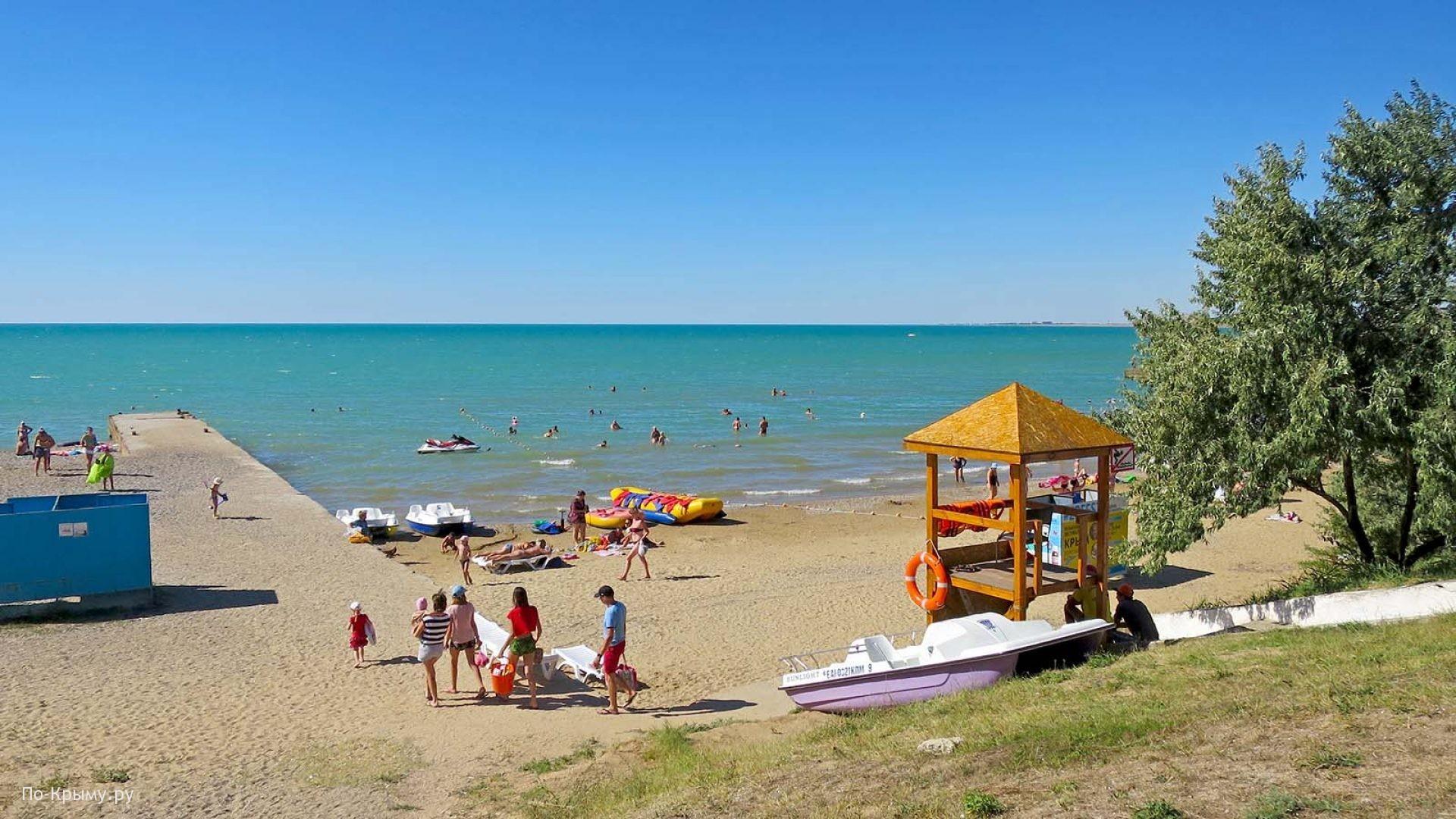 Лучшие смешанные пляжи Крыма