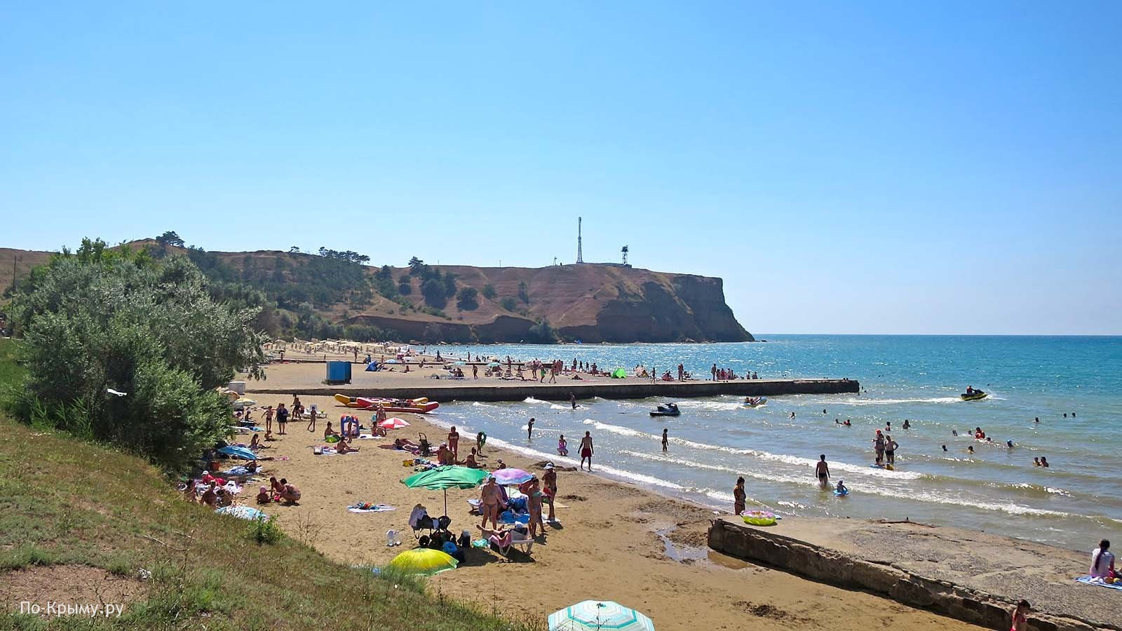 Лучшие песчано-галечные пляжи Крыма