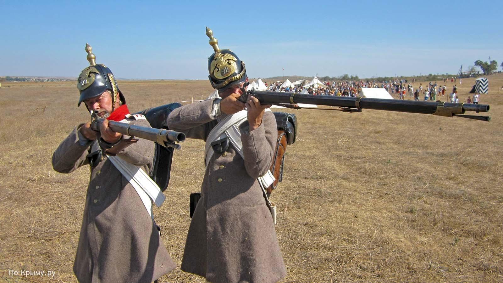 Стрелки Владимирского пехотного полка