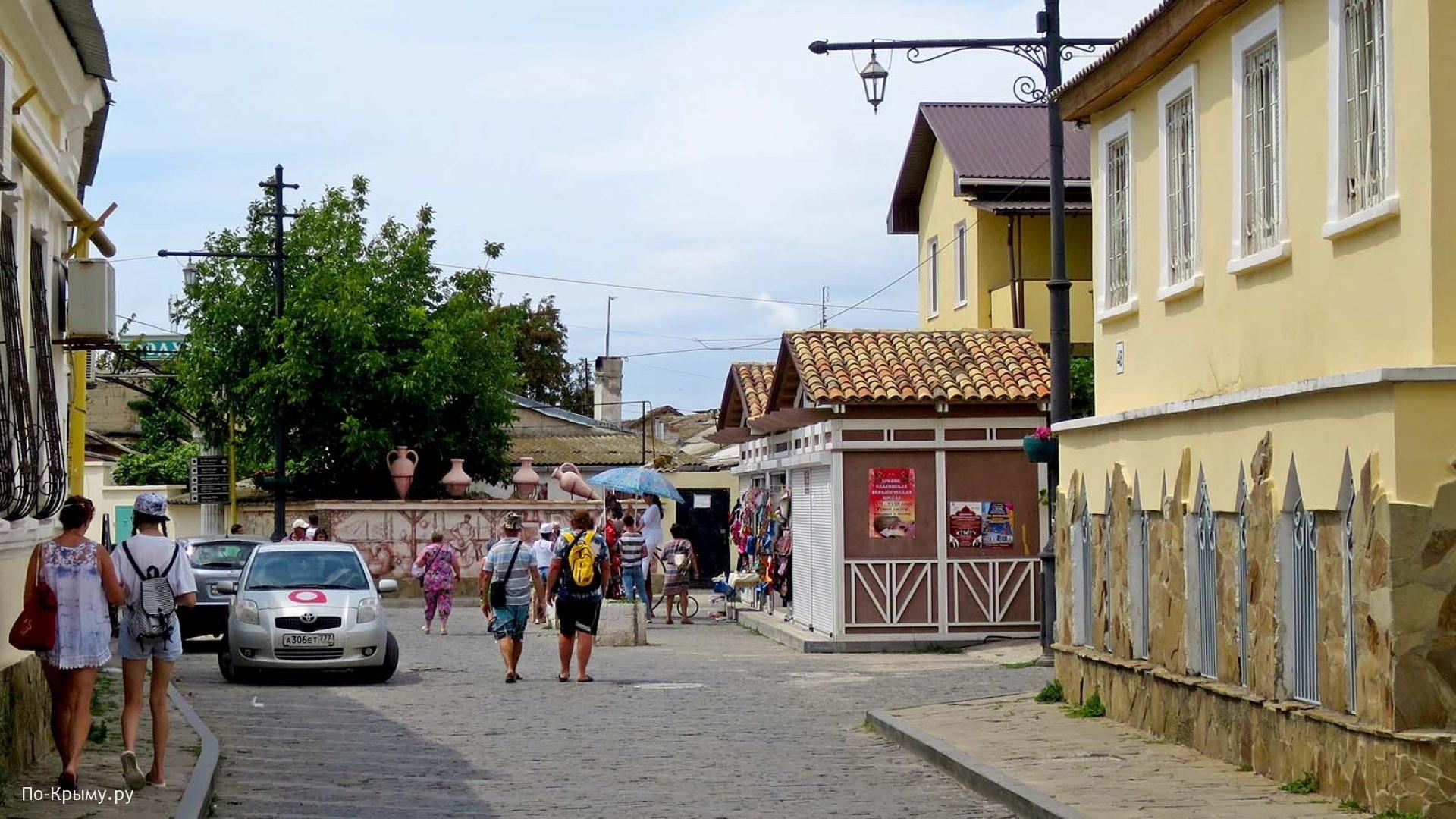 Прогулка по Старому городу Евпатории