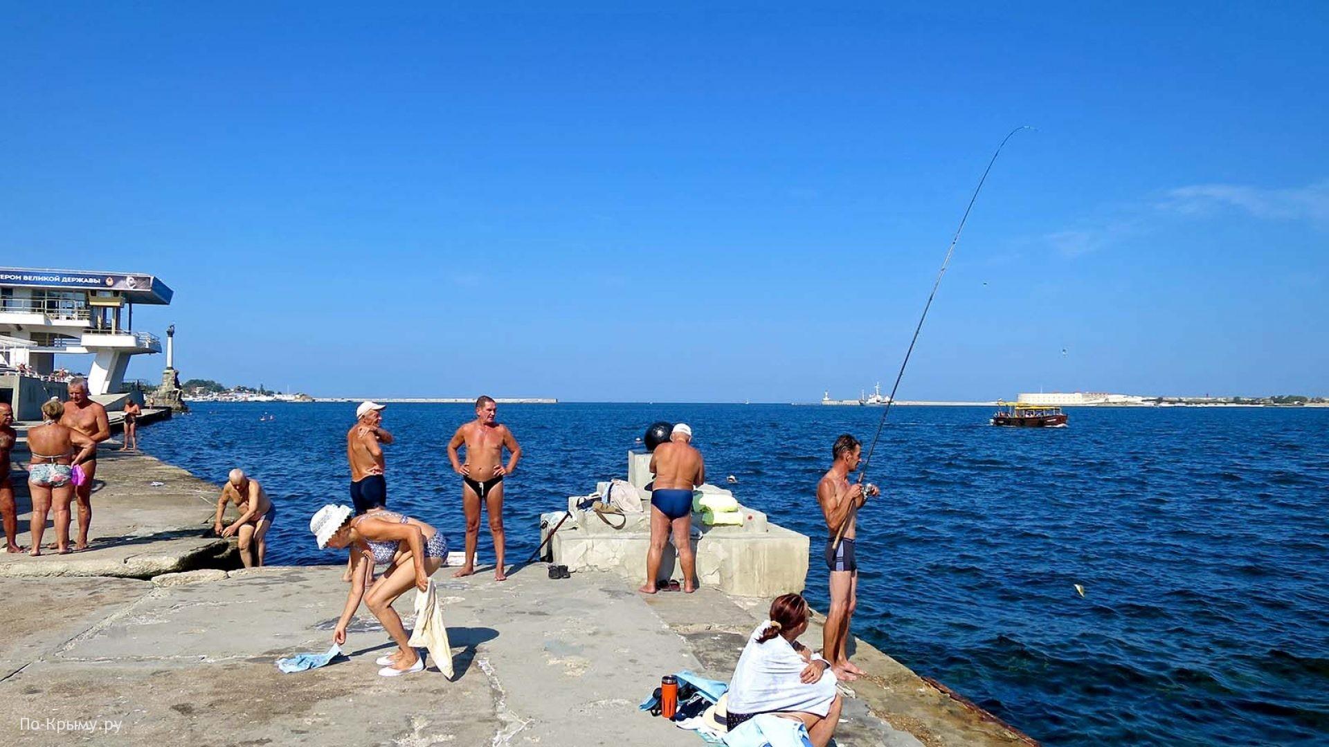 Лучшие места купания и рыбной ловли