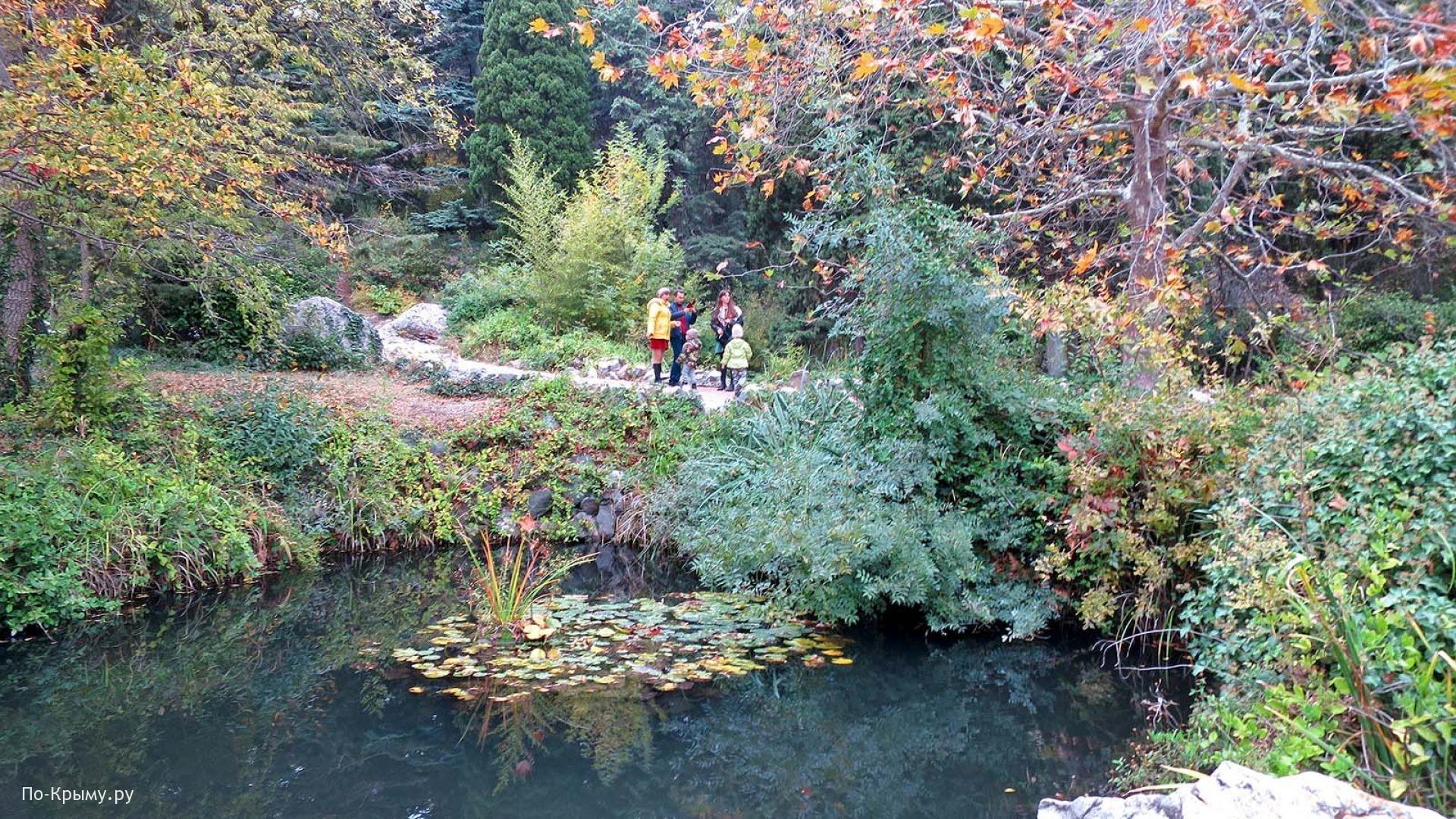 Форосский парк поздней осенью