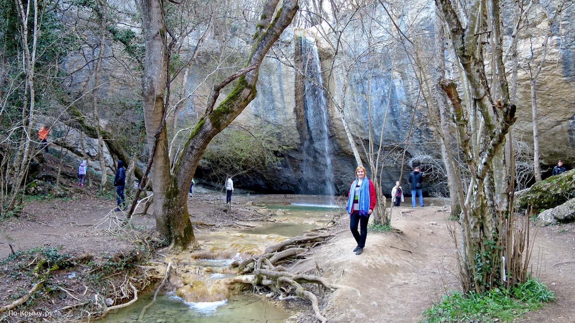 Водопады и реки Крыма
