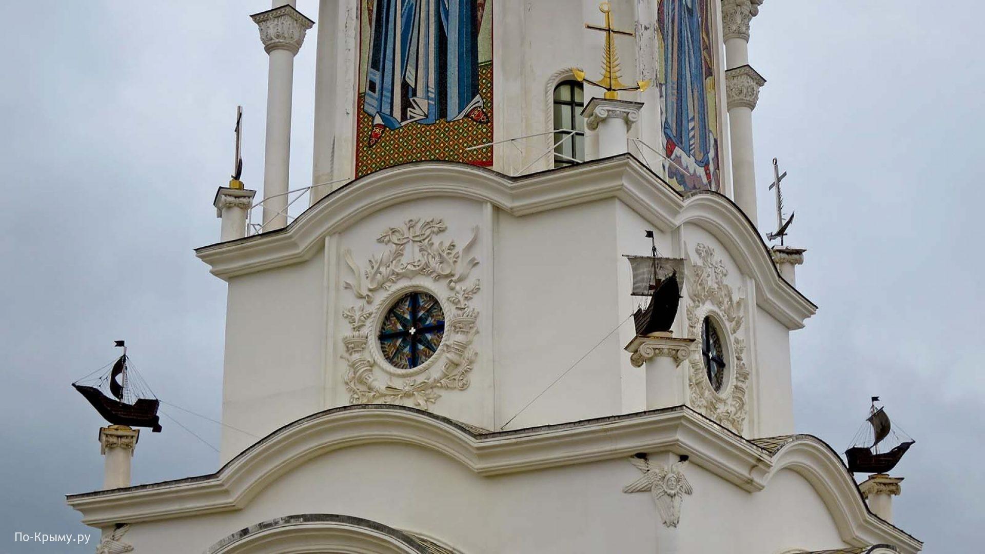 Крым, храм-маяк Николая Чудотворца