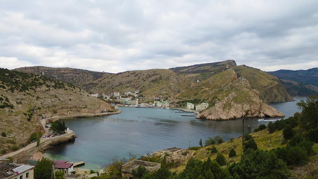 Пляж Мраморный, Балаклава, Крым