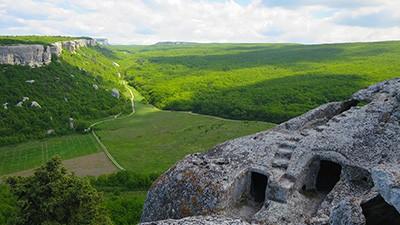 Эски-Кермен — лучший пещерный город Крыма