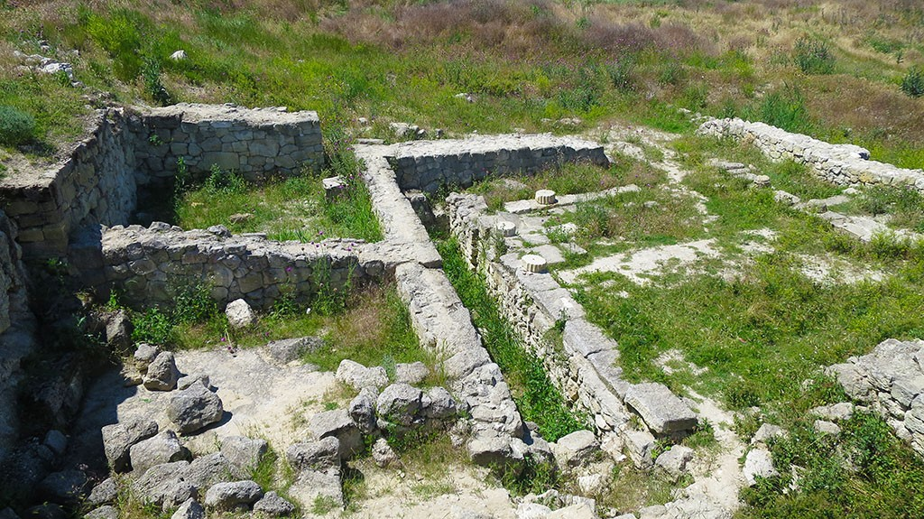 Руины античного Пантикопея
