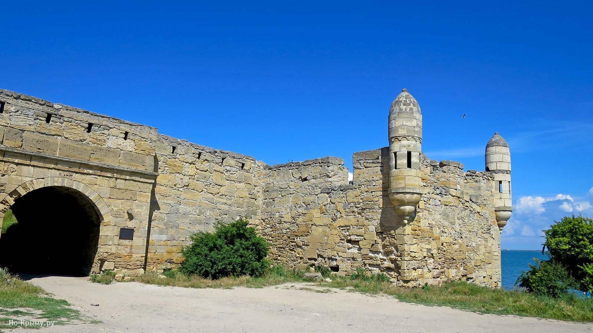 Крепость в Керченском проливе