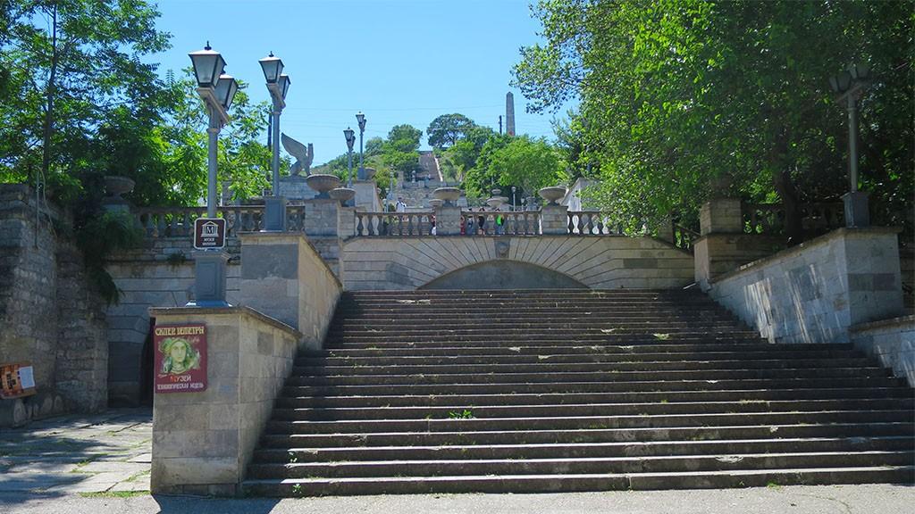 Главная достопримечательность г. Керчь - Митридатская лестница