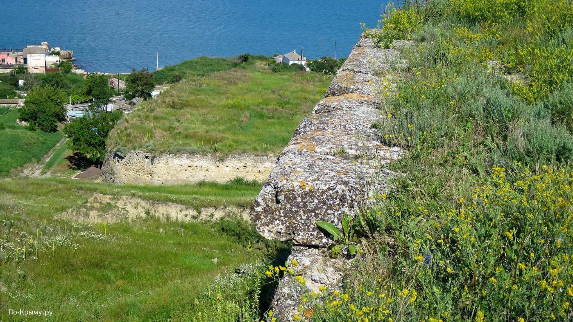 Многоуровневые крепостные сооружения