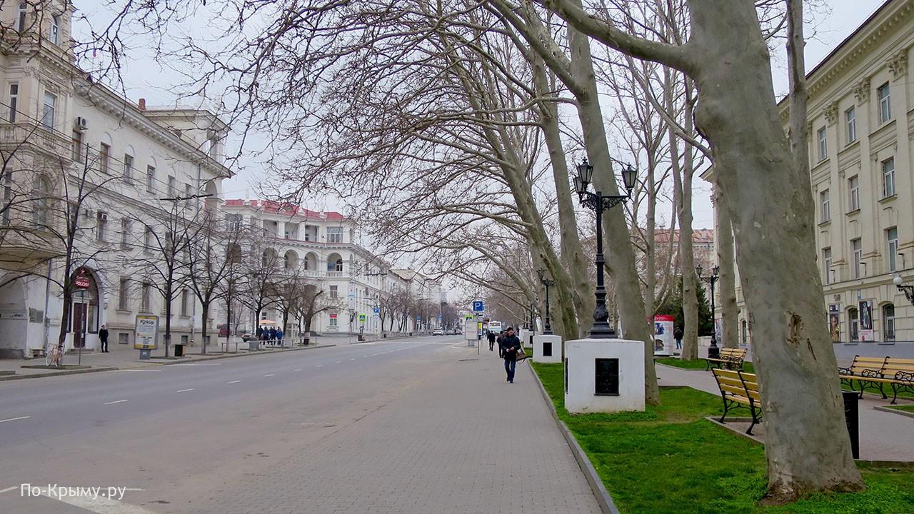 Достопримечательности центрального кольца Севастополя