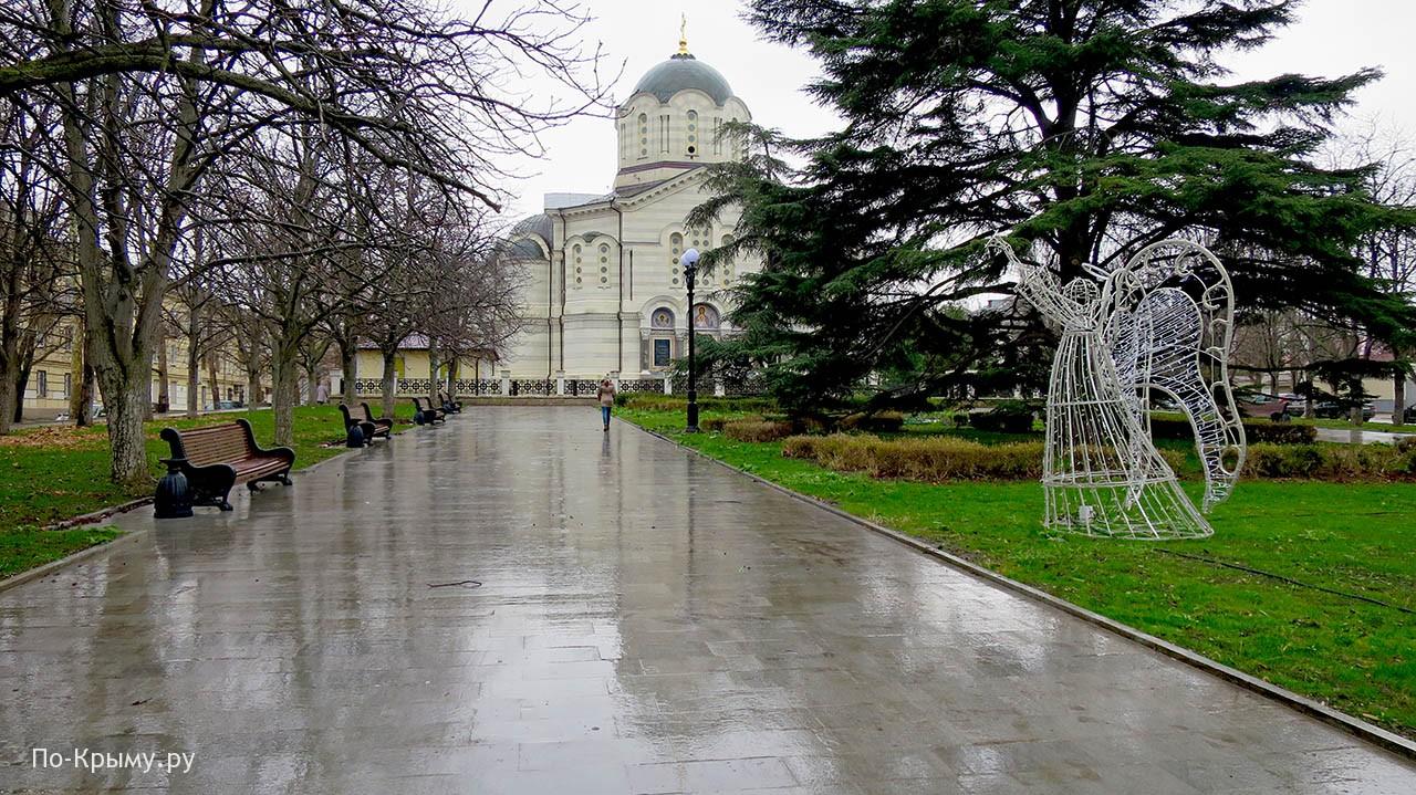 Достопримечательности Центральной горки Севастополя