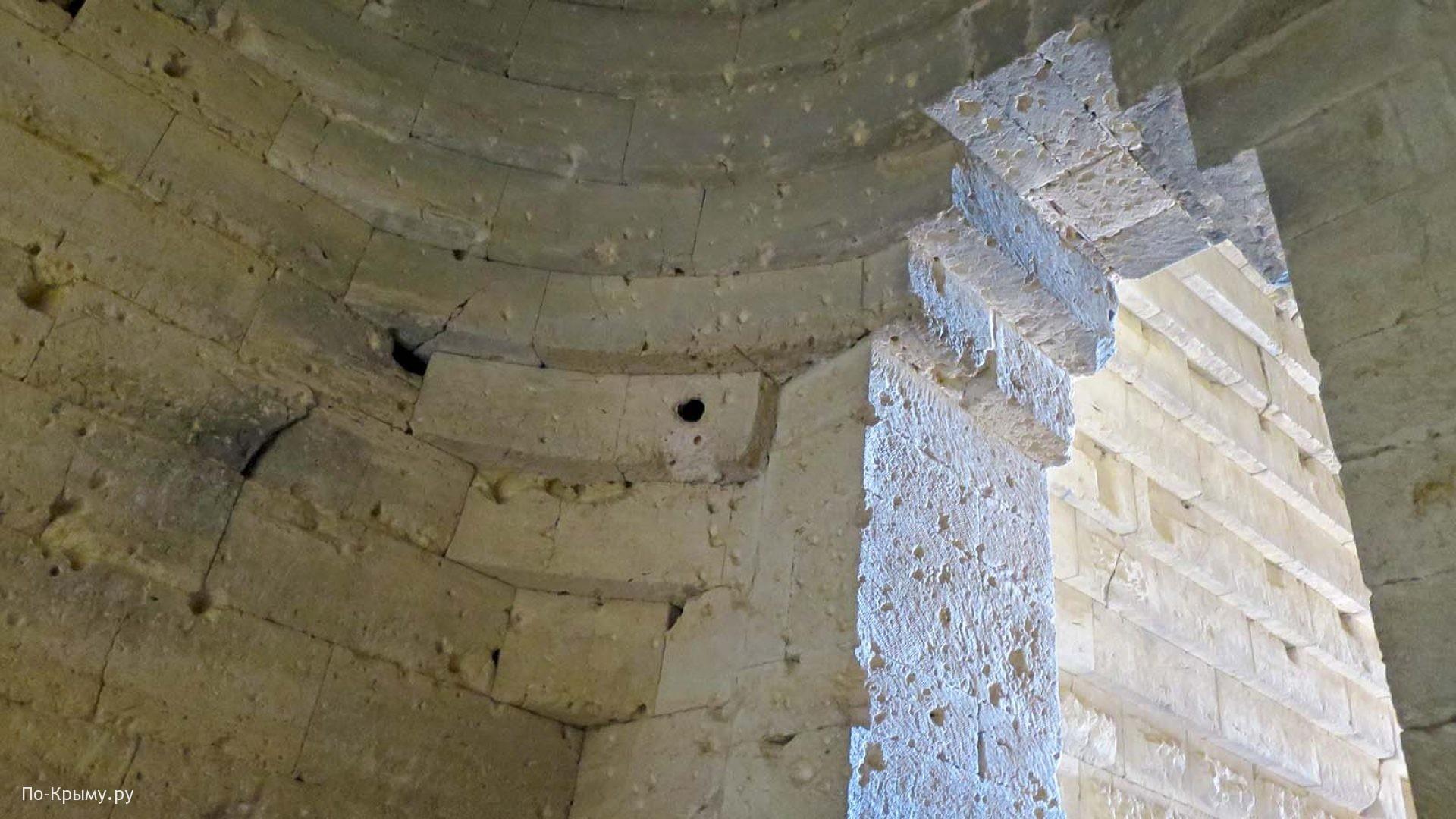 Внутреннее строение усыпальницы