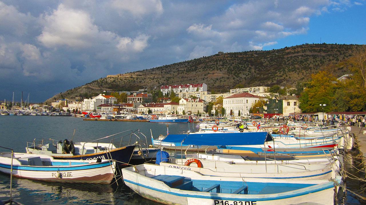 Что посмотреть в Крыму - Балаклавскую бухту