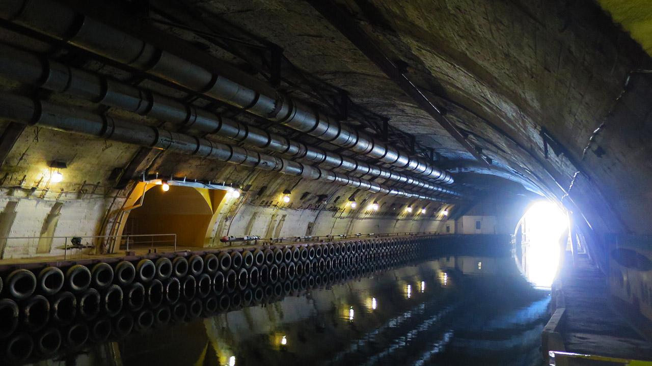 Что посмотреть в Крыму - туннель для подводных лодок