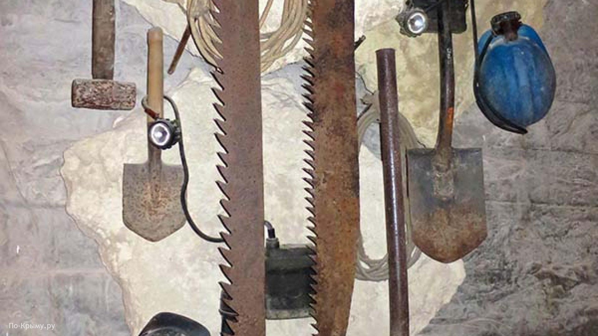 Необычные инструменты для подземных работ