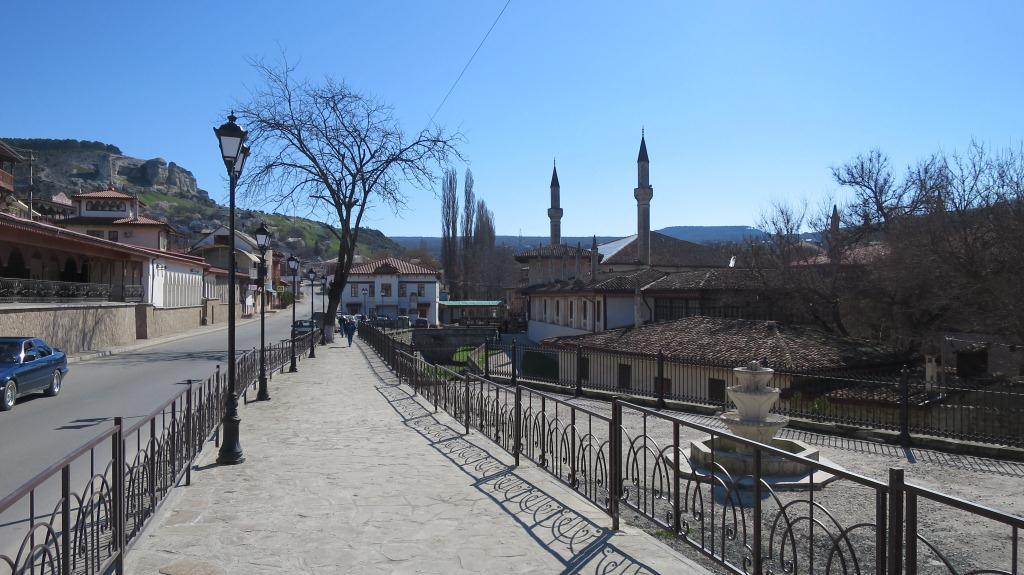 Старый город Бахчисарая после ремонта.