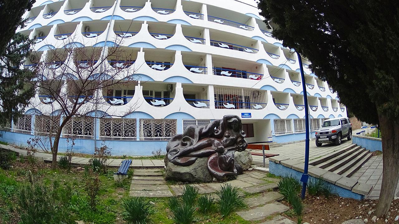 Пансионат на берегу Черного моря