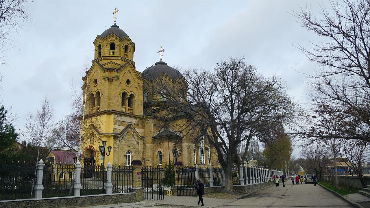 Церковь святого пророка Илии - достопримечательность г. Евпатории.