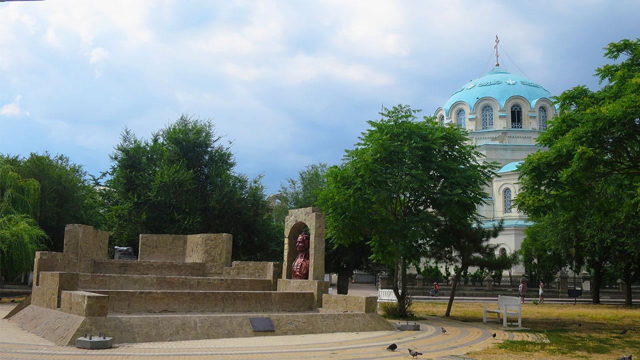 Крым, Евпатория, достопримечательности города