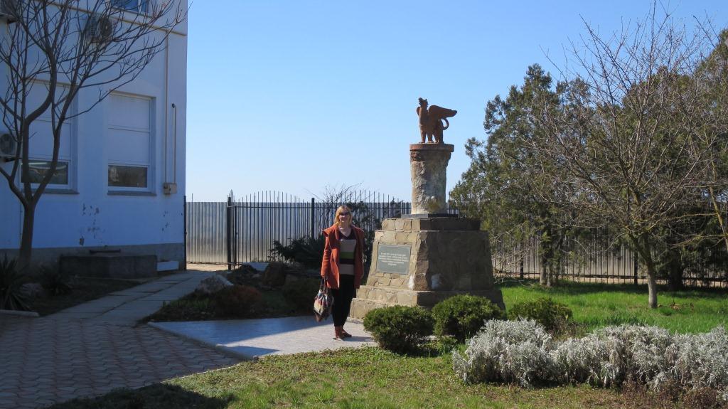 Интересные сакские памятники