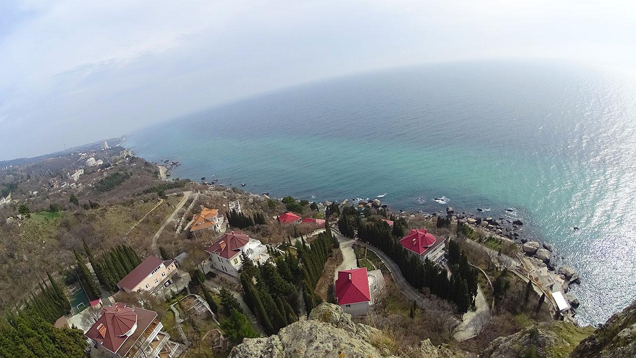 Береговое ЮБК - коттеджный поселок у скалы Ифигения