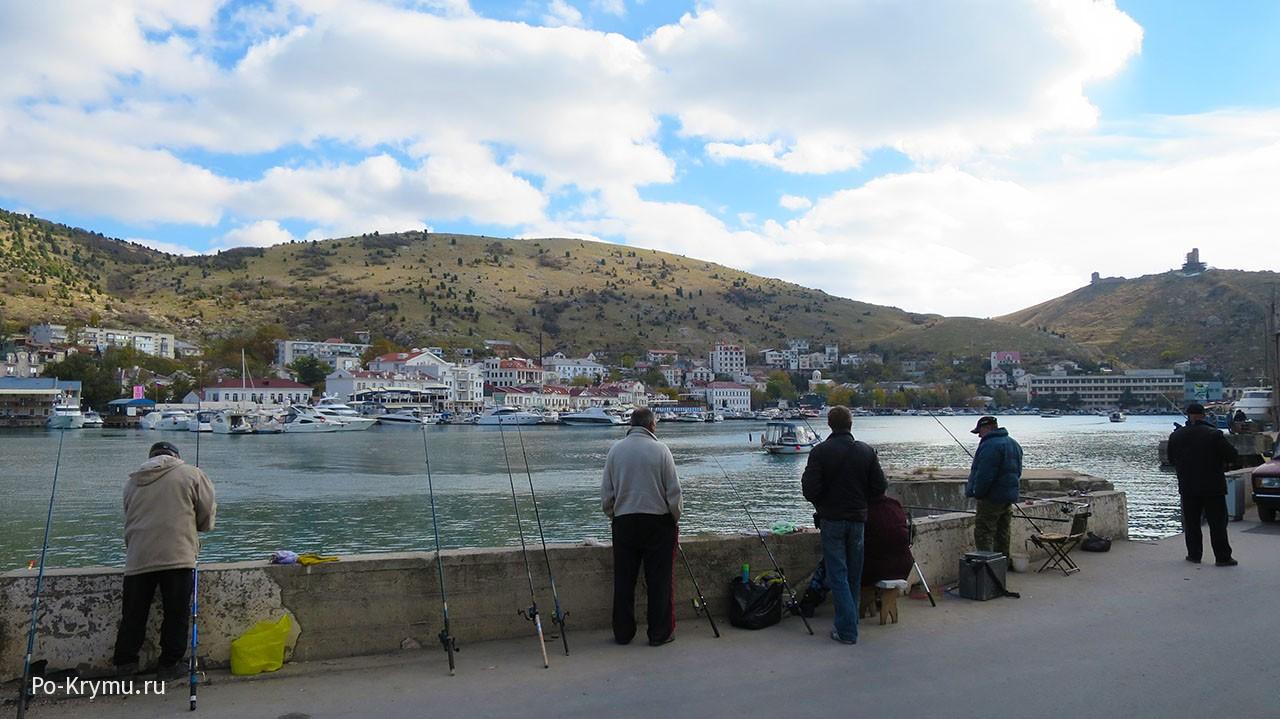 Рыбалка в Балаклаве, Севастополью