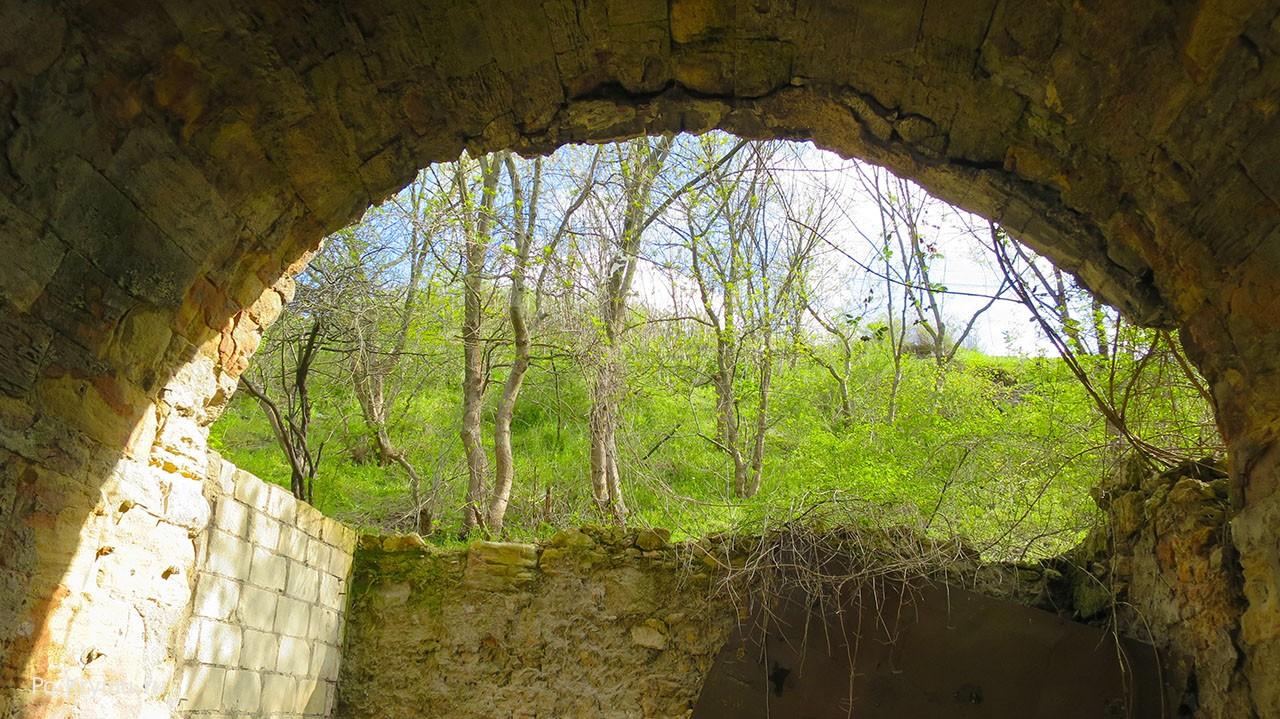 Акведук изнутри.