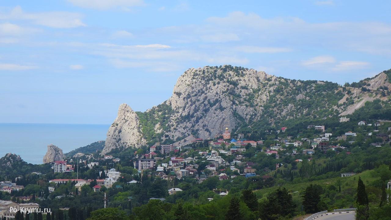 Знаменитая гора Кошка.